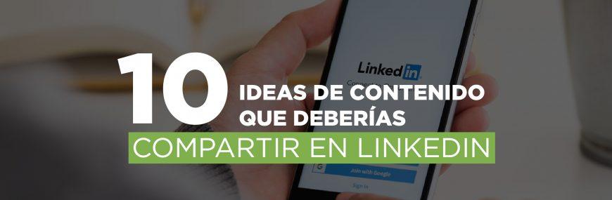 marketing de contenidos para linkedin